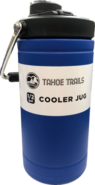 Tahoe Trails 1/2 Gallon Jug- Blue
