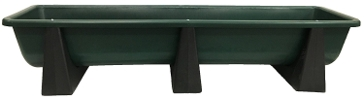 "High Country Plastics 86"" Poly Bunk Feeder"