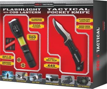 Pro 4 Tactical Bonus Pack - Pocket Knife