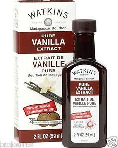 Watkins 2oz Pure Vanilla Extract 60387
