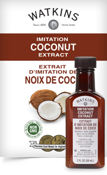 Watkins Imitation Coconut Extract 2fl oz