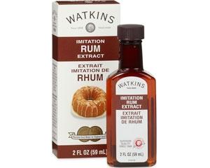 Watkins Imitation Rum Extract 2fl oz