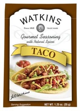 Watkins Taco Seasoning 1.25oz