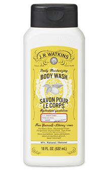 Watkins Lemon Cream Body Wash 18oz
