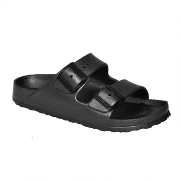 Aerothotic by Aerosoft Dual Strap Sandals Black
