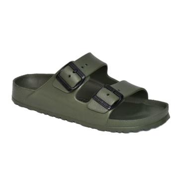 Aerothotic by Aerosoft Dual Strap Sandals Green