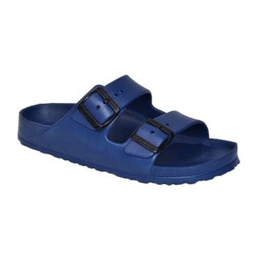 Aerothotic by Aerosoft Dual Strap Sandals Navy