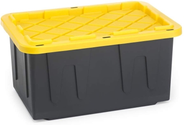 Tough Tote - 27 Gallon - Yellow Lid