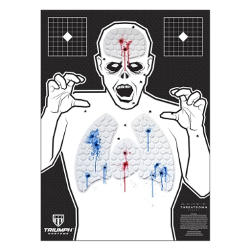 Threat Down Zombie Reactive Target