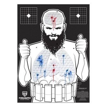 Threat Down Terrorist Reactive Target