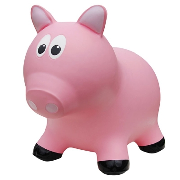 Next Generation Distributors Farm Hopper Pig-Pink