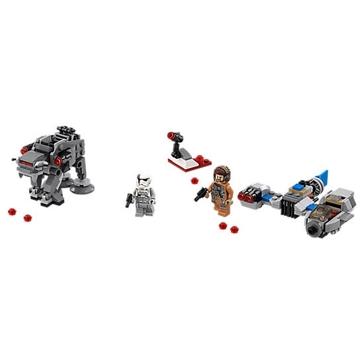 Lego Star Wars Ski Speeder vs. First Order Walker Microfighters