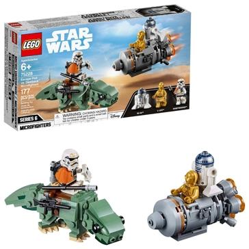 Star Wars Escape Pod Vs. Dewback Microfighter 75228