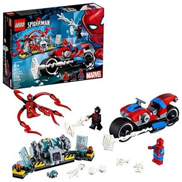 Lego Marvel Spider- Man Bike Rescue
