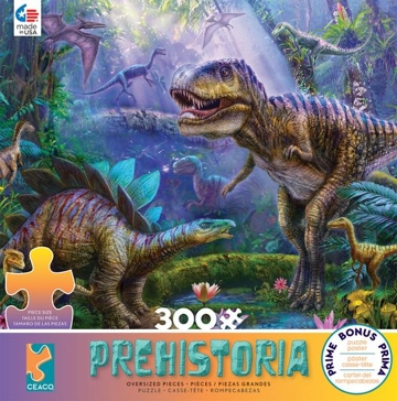 Ceaco Prehistoria 300 Oversize Pieces Puzzle - Assorted