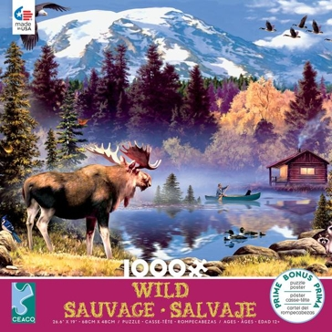 Ceaco Wild Collection - 1,000 Piece Puzzle - Assorted