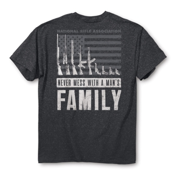 Buck Wear NRA Man's Family Tee