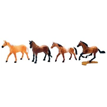 New Ray Toys USA 4pc. Horse Set
