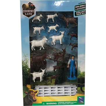 New Ray Toys USA Farm Accessory Set Assorted