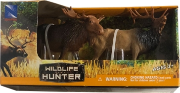 New Ray Toys USA Wild Life Hunter Wild Animal Set Assorted