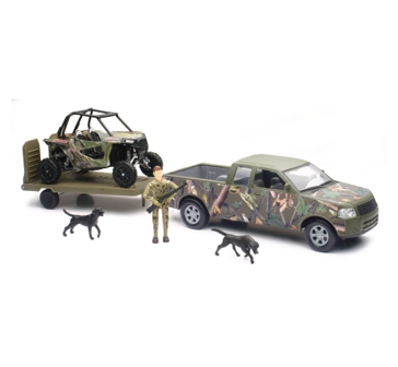 New Ray Toys USA Pickup With Camo RZR