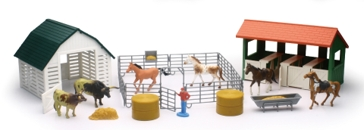 Country Life Horse & Cattle Set SS-05516A