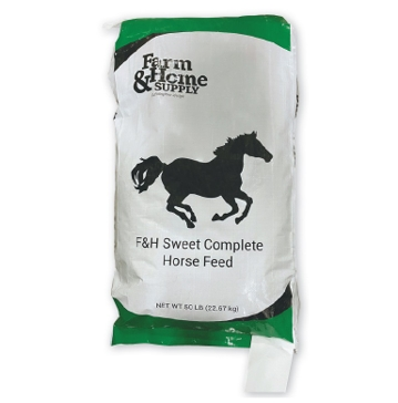 Farm & Home 12% Sweet Complete Horse Feed 50lb
