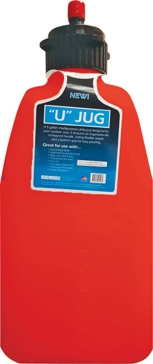 Sportsman 5 Gallon Red Plastic U-Jug with Hose