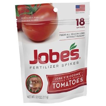 Jobes Tomato Fertilizer Spikes 18-Pk