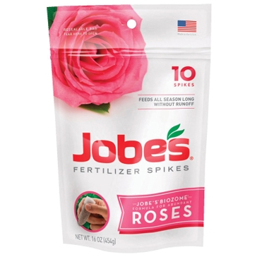 Jobes Rose Fertilizer Spikes 10-Pk