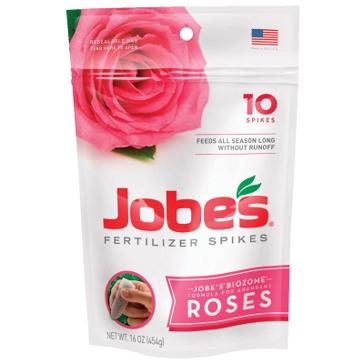 Jobes Rose Fertilizer Spikes 10-Pk