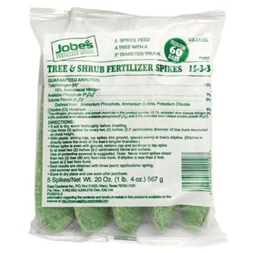 Jobes Gro-Stakes Tree Fertilizer Spikes 5-Pk