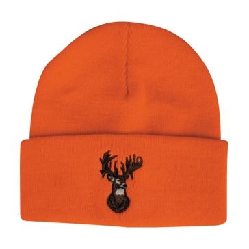 Outdoor Cap Blaze Knit Watchcap w/ Deer Head KW03DH