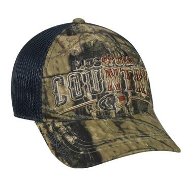 Outdoor Cap Mossy Oak Country Mesh Camo Hat MOFS34A