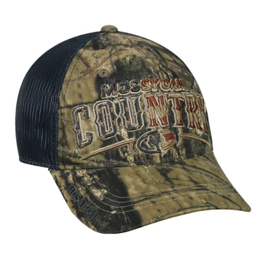 Outdoor Cap Mossy Oak Country Mesh Camo Hat MOFS34A
