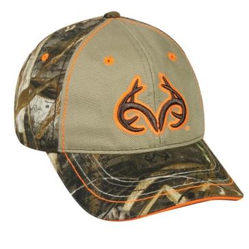 Outdoor Cap Realtree Max 5 Khaki Deer Horns Camo Hat TRT81A