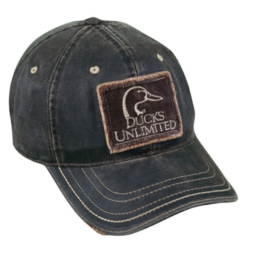 Outdoor Cap Ducks Unlimited Weathered Cotton Hat DU37C