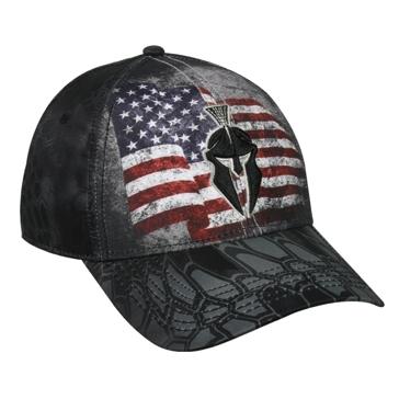Outdoor Cap American Flag Kryptek Typhon Hat KRY-007