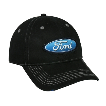 Outdoor Cap Black Ford Hat FRD07A