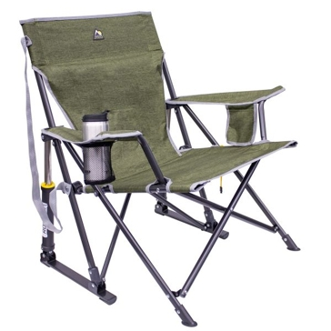 GCI Outdoors Kickback Rocker Chair- Loden