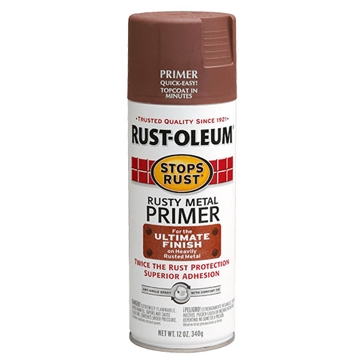 Rust-Oleum Stops Rust Rusty Metal Primer Spray Paint 12oz