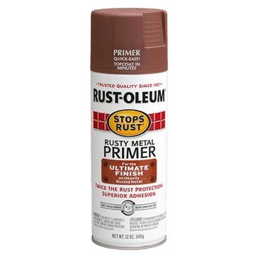 Rust-Oleum Stops Rust Rusty Metal Primer Spray Paint 12oz