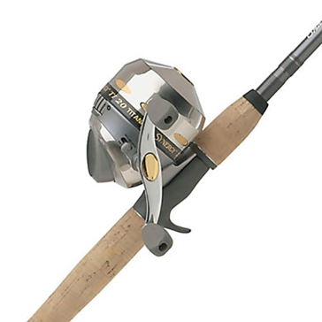 "Shakespeare 6' 6"" Synergy TI20 Spincast Medium-Heavy Spinning Combo"