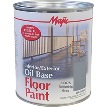 Majic Interior/Exterior Oil Base Floor Paint 1Gal