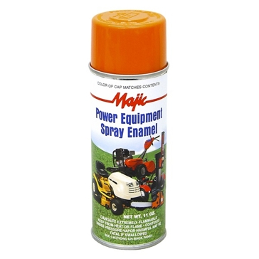 Majic Power Equipment Spray Enamel 11oz - Club Cadet Yellow