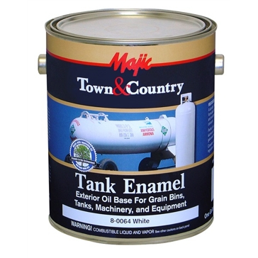 Majic Town & Country White Tank Enamel 1Gal
