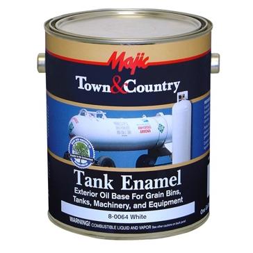 Majic Town & Country White Tank Enamel 1Gal