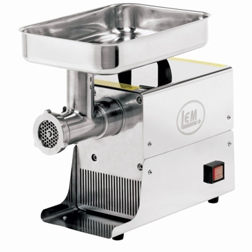 LEM Stainless Steel Big Bite Electric Grinder W777A