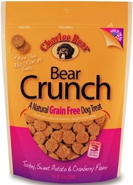 Charlee Bear Grain Free Dog Treats 8oz.