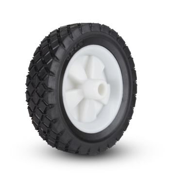 Plastic Wheel Diamond 6 x 1½